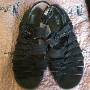 Jambu leather sandals worn 2 times